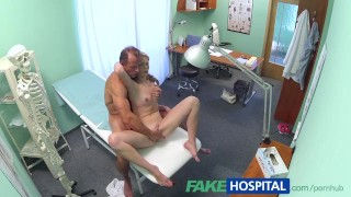 Slim babe wants sex with doctor